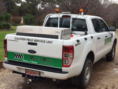 Mower Mate SA field service unit