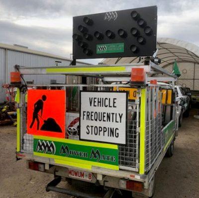 Mower Mate SA road truck