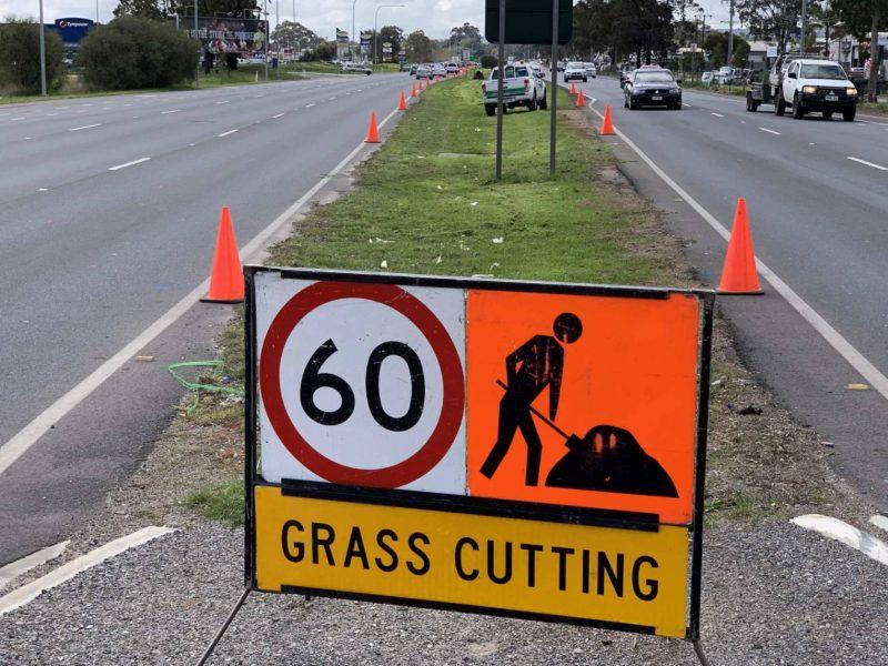 Mower Mate SA median grass cutting