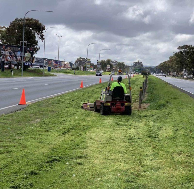 Mower Mate SA median mowing
